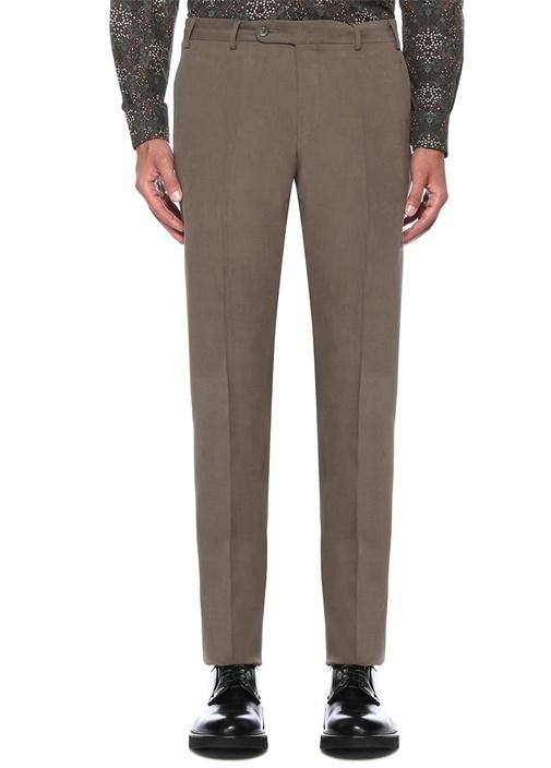 Drop 8 Pilesiz Vizon Normal Bel Kanvas Pantolon