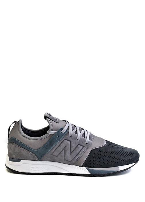 New Balance Gri ERKEK  Gri Siyah Logolu Erkek Sneaker 476738 Beymen