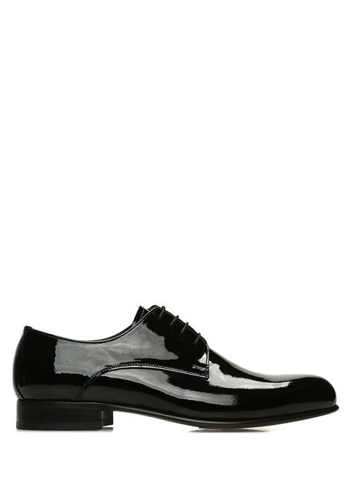 Siyah Erkek Rugan Smokin Ayakkabı