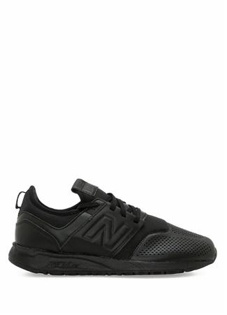 New Balance Kadın 247 Siyah Delik Detaylı Sneaker 38 R