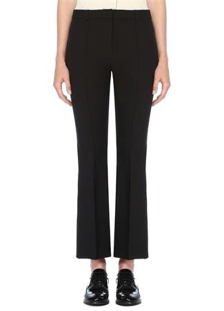 Beymen Collection Kadın Siyah Kısa Bol Paça Tayt Pantolon 44