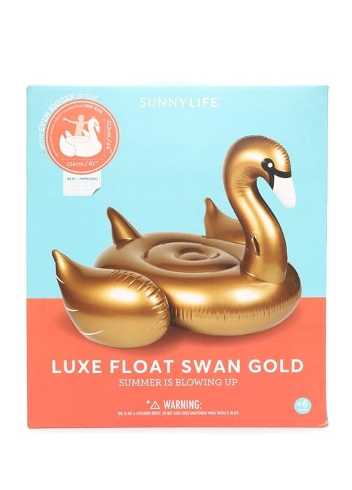 Gold Kuğu Formlu Su Yatağı