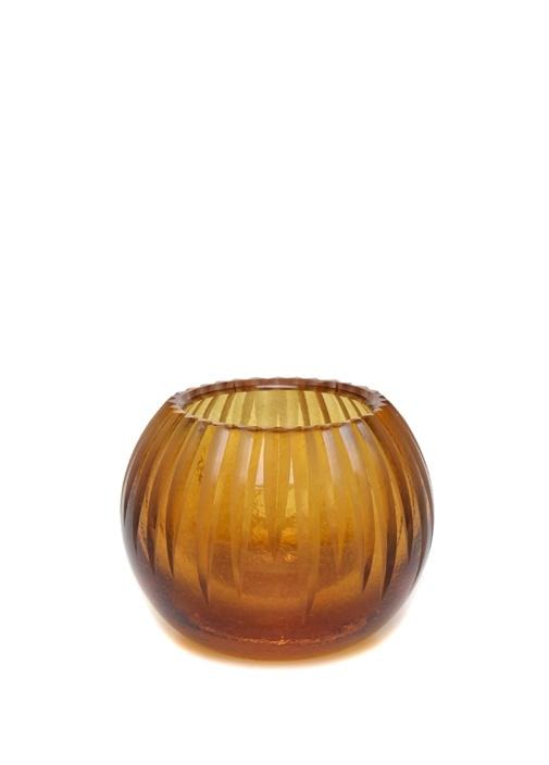 Silva Sarı Cam Mumluk