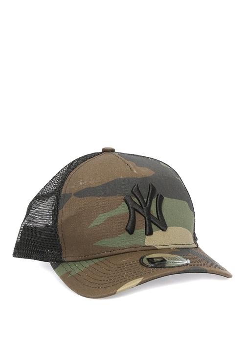 Clean Trucker Kamuflajlı Erkek Şapka