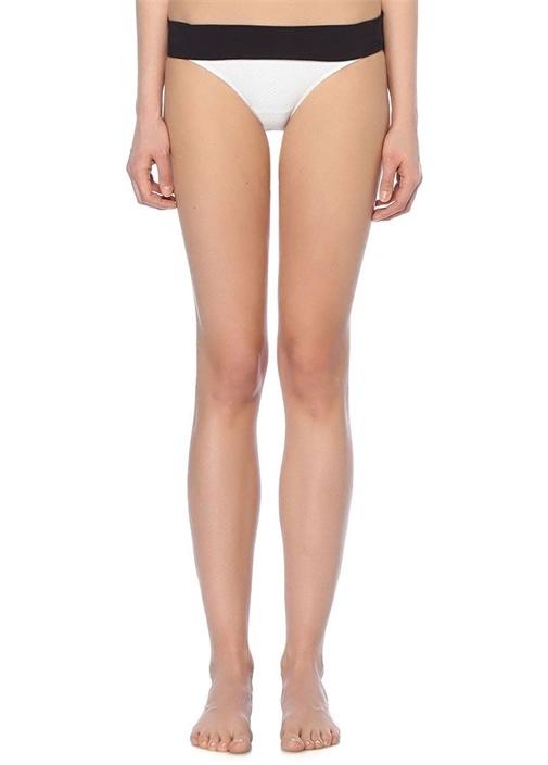 Anacapri Beyaz Katlı Bikini Altı