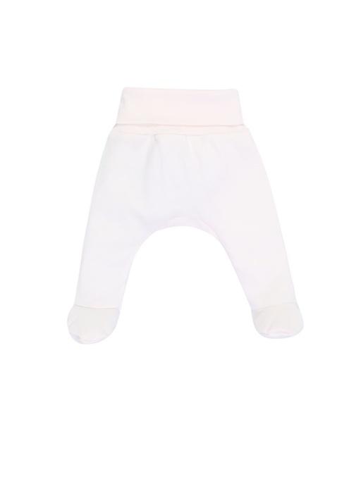 Pembe Unisex Bebek Organik Pamuklu Pantolon