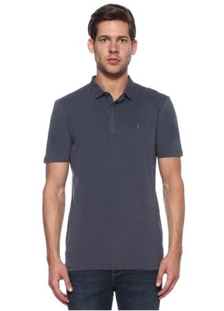 Erkek Polo Yaka T-shirt Lacivert S EU