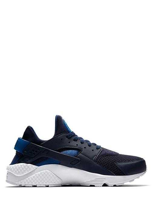 Nike Mavi ERKEK  Air Huarache Run Lacivert Erkek Deri Sneaker 502014 Beymen