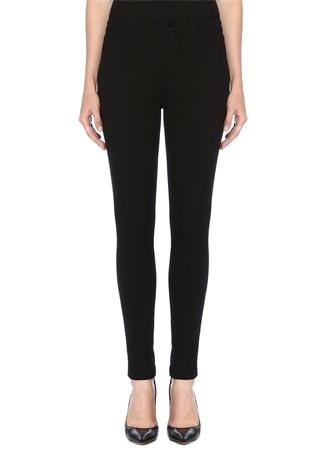 J Brand Kadın Maria Siyah Yüksek Bel Skinny Jean Pantolon 25 US