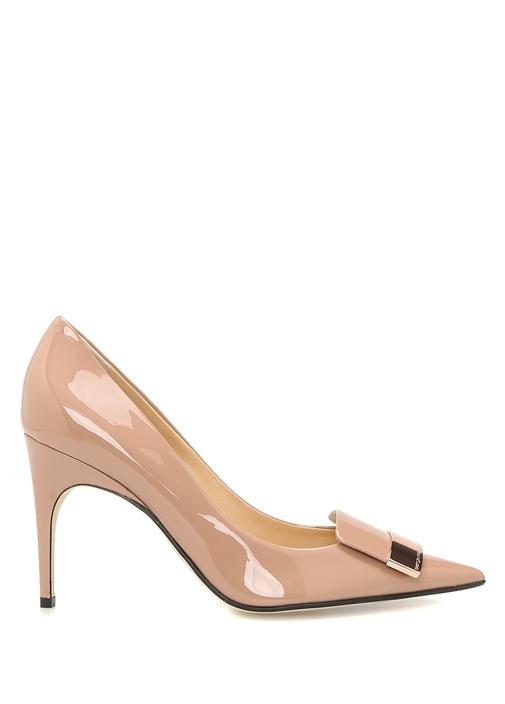 Vernice Ten Gold Tokalı Kadın Deri Stiletto
