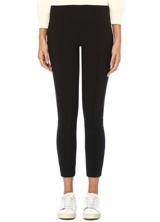 Cosso Siyah Normal Bel Streç Pantolon