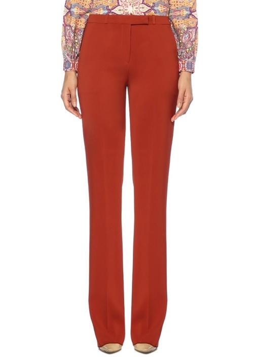 Kiremit Normal Bel Boru Paça Pantolon