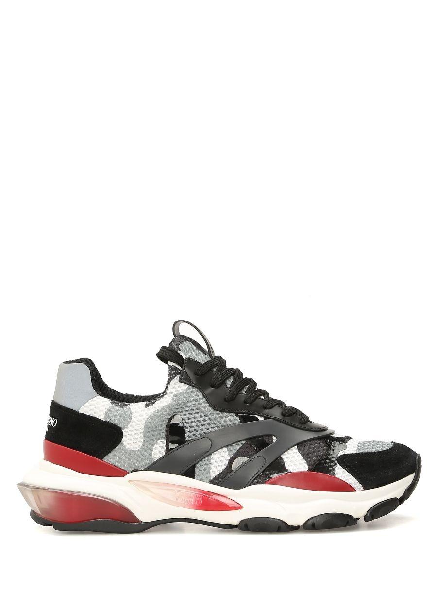 Prada Sport Siyah ERKEK  Siyah Erkek Deri Sneaker 520614 Beymen