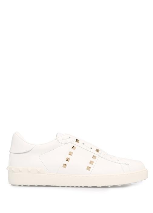 Valentino Beyaz ERKEK  Valentino Garavani Beyaz Erkek Deri Sneaker 515257 Beymen