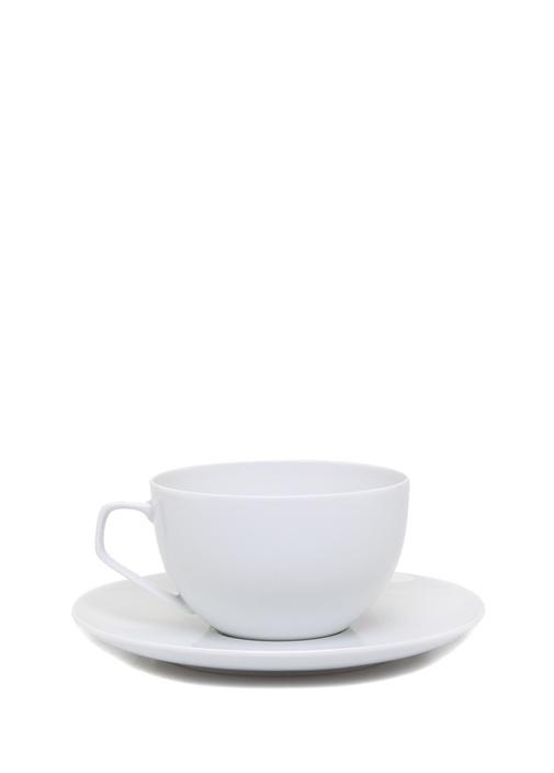 Beyaz Tabaklı Porselen Fincan