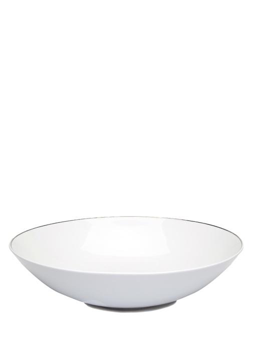 Beyaz Porselen Salata Kasesi