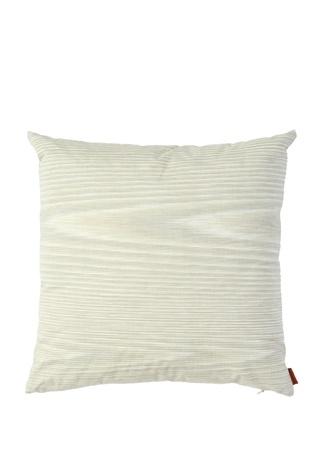 Vanda Ekru Çizgili Dekoratif Yastık