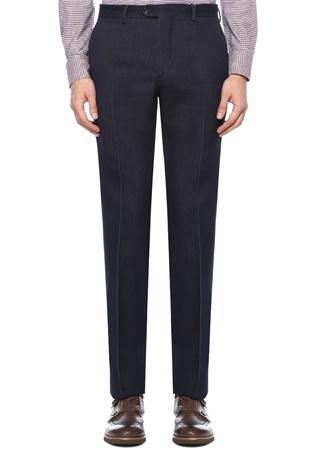 Lacivert Normal Bel Boru Paça Pantolon