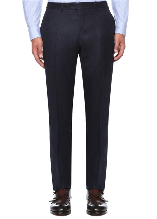 Drop 6 Lacivert Normal Bel Dokulu Pantolon