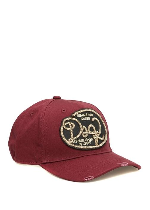 Dean Dan Bordo Patch Detaylı Erkek Şapka