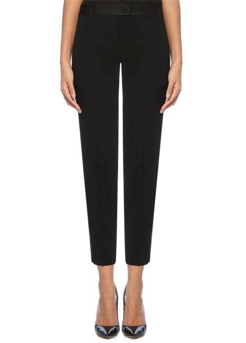 Ermanno Scervıno Siyah Normal Bel Şeritli Dar Paça Pantolon – 2149.0 TL
