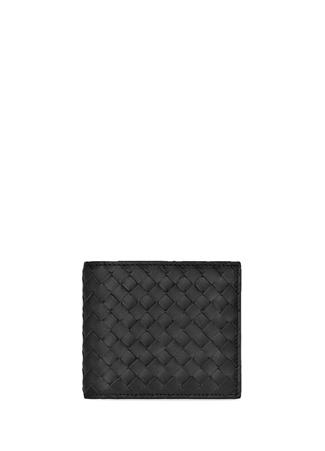 Bottega Veneta Erkek Billfold Siyah Örgü Dokulu Deri Cüzdan Ürün Resmi
