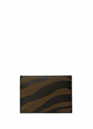 Bottega Veneta Erkek Haki Çift araflı Deri Kartlık Yeşil Ürün Resmi