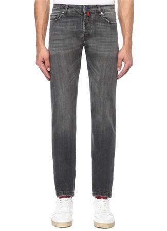 Kiton Erkek Antrasit Boru Paça 5 Cepli Jean Pantolon Gri 40 I (IALY) Ürün Resmi