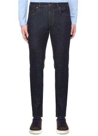 Lacivert Klasik Jean Pantolon