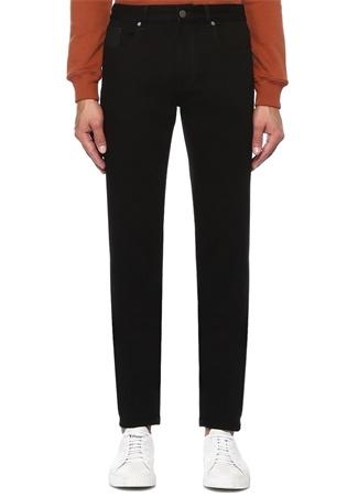 Slim Fit Siyah Dar Paça Jean Pantolon