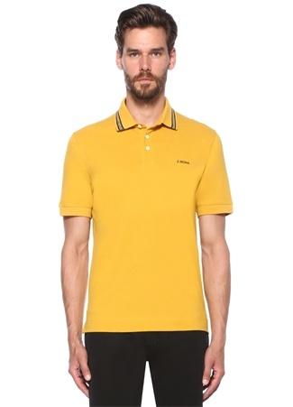 Z Zegna Erkek Sarı Logolu Polo Yaka -shirt XXXL I (IALY) Ürün Resmi