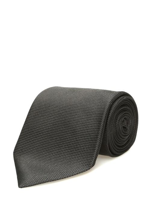 Siyah İpek Kravat