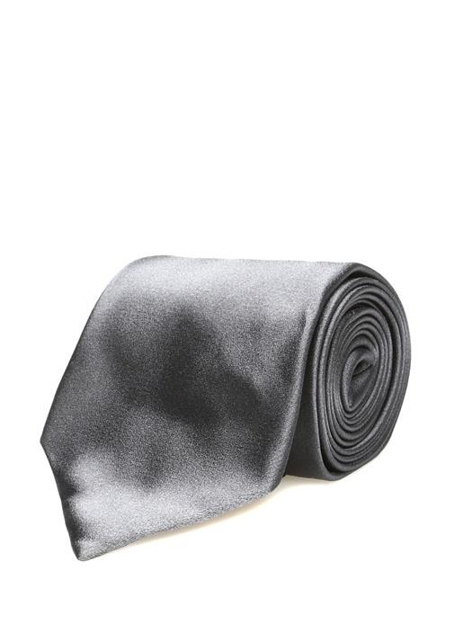 Gri İpek Kravat