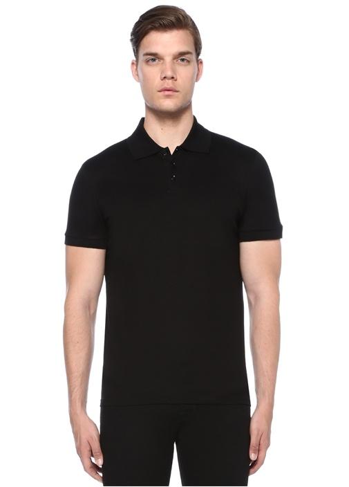 Siyah Polo Yaka T-shirt