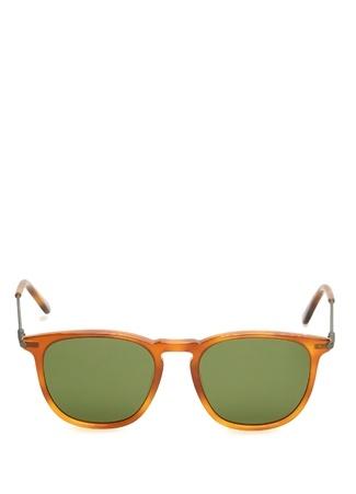 Bottega Veneta Kadın uruncu Logolu Güneş Gözlüğü Yeşil Ürün Resmi
