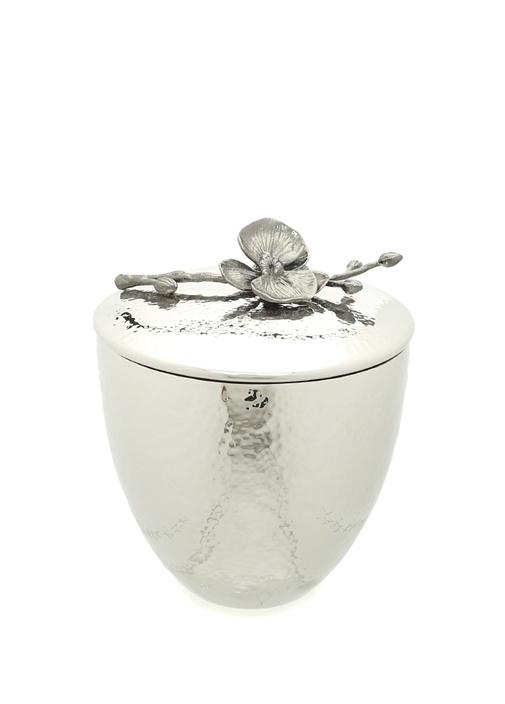 Silver Orkide Çiçeği Detaylı Buz Kovası