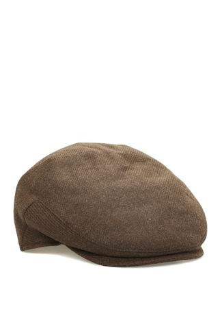Isaia Erkek Kahverengi Dokulu Yün Şapka 62 Ürün Resmi