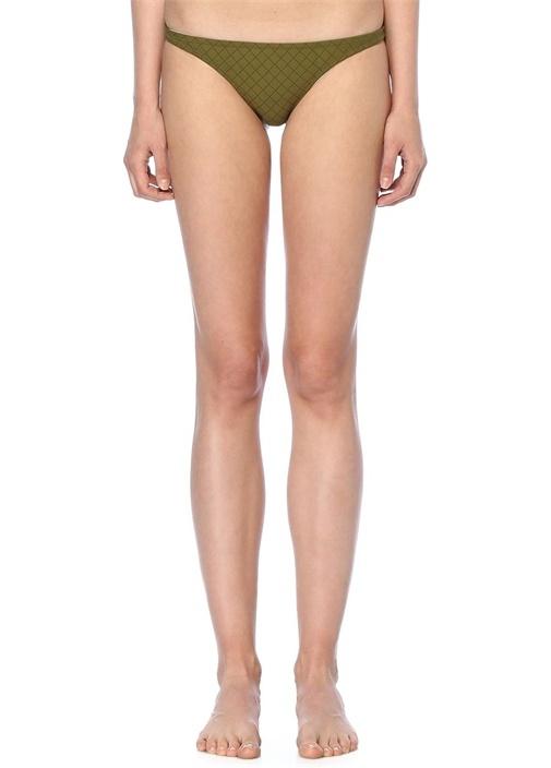 Petal Haki Bikini Altı