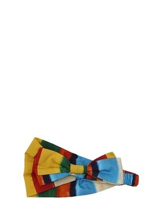 Dolce&Gabbana Kız Çocuk Çizgili Bandana Çok Renkli M ST