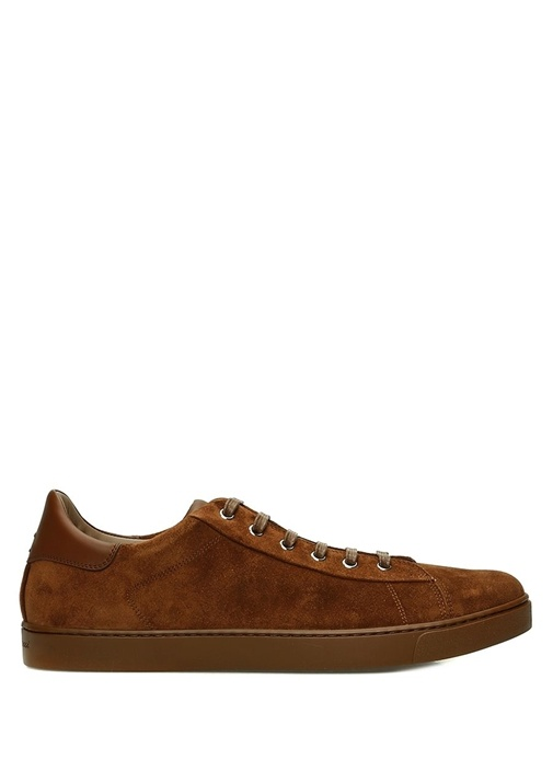 Kahverengi Erkek Süet Sneaker