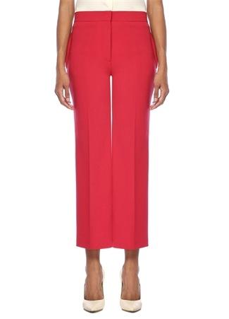 Fendi Kadın Kırmızı Yüksek Bel Crop Pantolon 40 I (IALY) Ürün Resmi