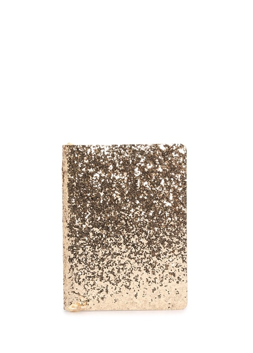 All That Glitters Gold Payetli A6 Defter