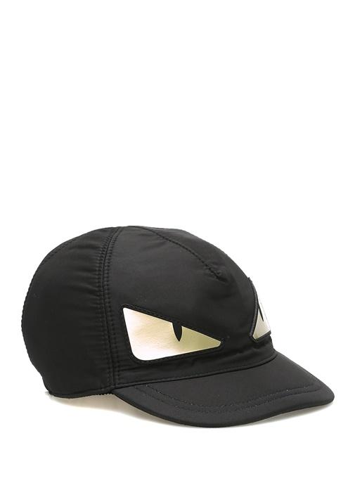 Siyah Canavar Suratlı Erkek Çocuk Şapka