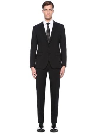 Dolce&Gabbana Erkek Siyah Kelebek Yaka Yün Takım 48 IT