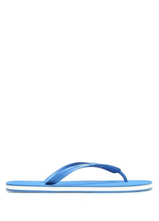 Dolce&Gabbana Mavi ERKEK  Mavi Logolu Erkek Terlik 518981 Beymen