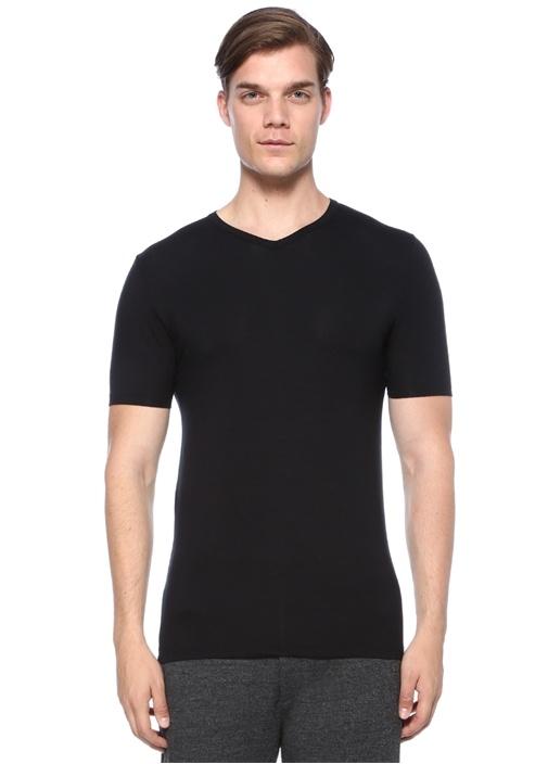 700 Pureness Siyah Basic T-shirt