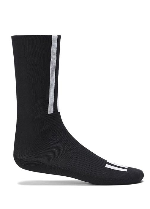 Siyah Gri Ribli Erkek Çorap