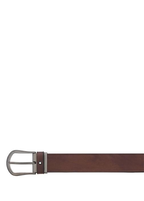 Kahverengi Unisex Deri Kemer