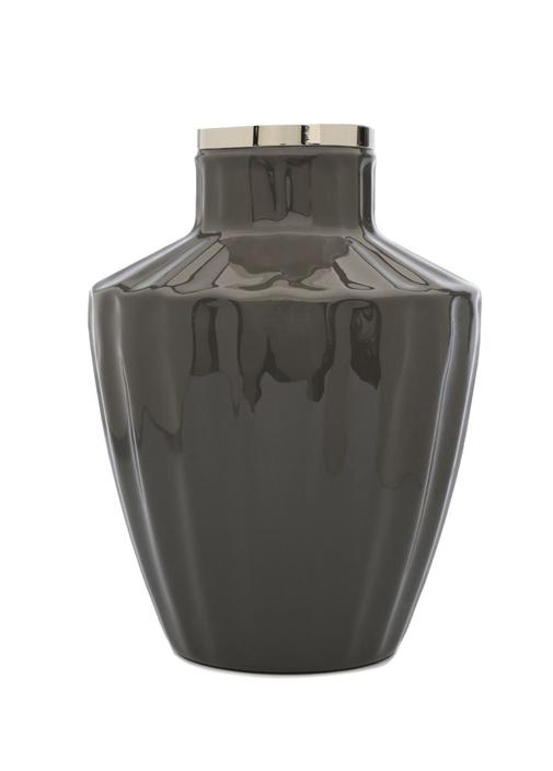 Enamel Josefine Antrasit Porselen Vazo