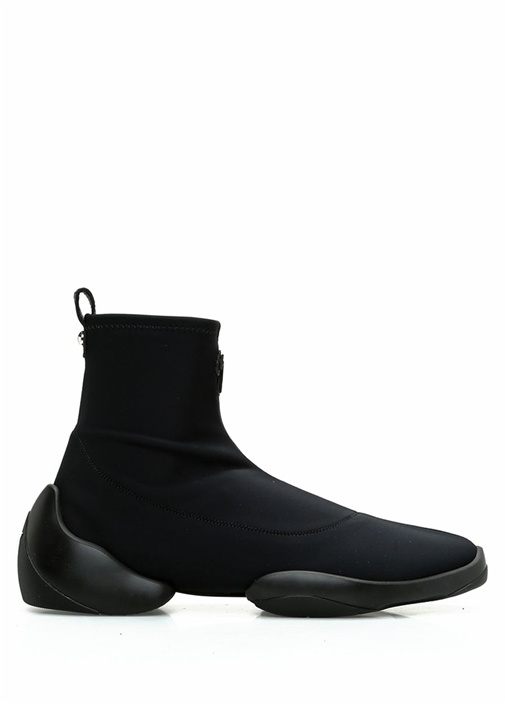 Giuseppe Zanotti Siyah ERKEK  Siyah Logolu Çorap Formlu Erkek Sneaker 520400 Beymen